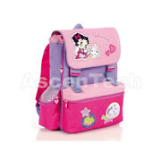 Betty Boop - Extensible Backpack Baby 12h 35 X 27 X 8,5 + 6,5 Cm