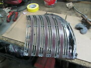 1940 Cadillac Original Right Side Chrome Heavy Cast Grille Caddy