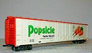 Tyco 62and039 Boxcar Mechanical Reefer Popsicle Twin Treats Rd Prr P29016 - Ho