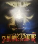 Topps 1996 Star Wars Shadows Of The Empire Trading Cards Master Set