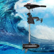 Compact Kayak Electric Outboard Trolling Motor Boat Ding Canoe 12v 45lb Thrust