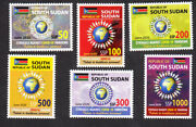South Sudan 2020 Nh Covd 19 Virus Set Of 6 Pandemic - Fast Free Shipping In Usa