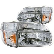 111040 Anzo Headlight Lamp Driver And Passenger Side New Lh Rh For Ford Explorer