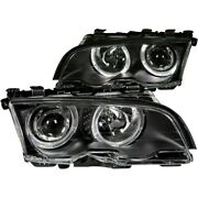 121013 Anzo Headlight Lamp Driver And Passenger Side New For 323 325 328 330 Coupe