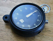 Heuer Ifr 542.240 Stopwatch, 60 Second, 12 Minute I.f.r. Aircraft Pocket Timer