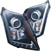 111308 Anzo Headlight Lamp Driver And Passenger Side New Lh Rh For Cadillac Srx
