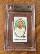 2017 Topps Allen And Ginter Mini Brooklyn Back Aaron Judge Bgs 9.5