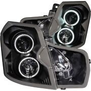 121417 Anzo Headlight Lamp Driver And Passenger Side New Sedan Lh Rh For Cts 03-07