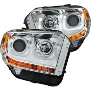 111319 Anzo Headlight Lamp Driver And Passenger Side New Lh Rh For Toyota Tundra