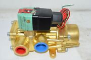 New Asco 8344p076mo Solenoid Valve 3/4and039and039 100-200v 10-250 Psi
