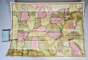 Mitchell's National Map And Route Book S Augustus Mitchell 1846 Printer Kay And