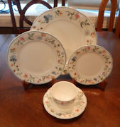 Villeroy And Boch Mariposa Pattern 5 Piece Place Setting S Made In Germany