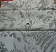 10y Brunschwig And Fils Bird And Thistle Screen Print Grey Msrp196/y Special Order