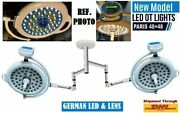 Led Ot Lights Surgical Paris 48+48 Operation Theater Lamp With German Led And Lens