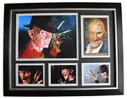 Robert Englund Signed Autograph 16x12 Framed Photo Display Freddy Krueger And Coa