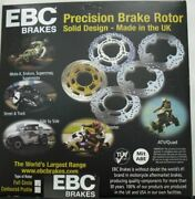 Ebc Brake Disc Front Right Md3014rs Street Motorcycle Brake Rotor Silver