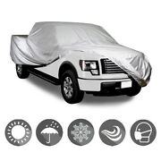 Fit 01-14 Gmc Sierra 3500 Ext/crew 7and039 Ft Bed Truck Outdoor Car 4-layer Cover