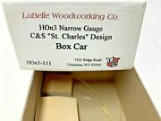 Hon3-111 Labelle Woodworking Kit For Cands St.charles Design Box Car 7949