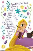 Disney Tangled - Thoughts Poster
