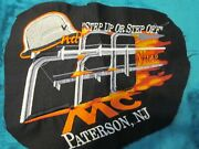 Motorcycle Club Colors Step Up Or Step Off Patch