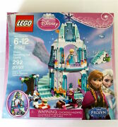 Lego Disney Princess Frozen Anna And Elsaand039s Sparkling Ice Castle 41062 Retired New