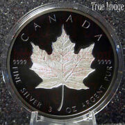 2020 Maple Leaf 50 3 Oz Rhodium-plated Double-incuse Silver Proof Coin Canada