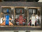 Transformers Igear Pp03e Pp03a Pp03j Coneheads Seekers Thrust Ramjet Dirge Set
