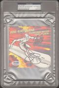 Stan Lee And Joe Satriani Signed Marvel Surfing With The Alien Cd Cover Psa/dna