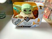 New Baby Yoda, The Child, Star Wars Talking Plush With Frog