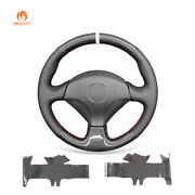 Carbon Fiber Leather Car Steering Wheel Cover For Honda S2000 Civic Si Insight
