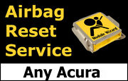 All Acuras Airbag Module Reset Service Control Unit Computer Srs Rcm