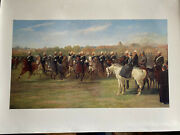 Victorian Colonial Cavalry Scene Canvas Print Review At Shanghai By John Chaltom