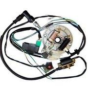 50cc-110cc Cdi Wire Harness Stator Assembly Wiring Kit Electric Quad Atv Parts