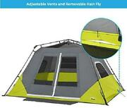 Core Instant Cabin Awning Tent 6-person Beach Camping Outdoor Travel Hiking New