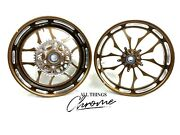 Stock Size Root Beer Contrast Recluse Wheels 2009-2014 Yamaha Yzf R1
