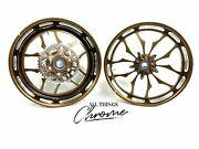 300 Fat Tire Root Beer Contrast Recluse Wheels 06-11 Kawasaki Ninja Zx-14