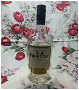 Old Forester 86 Proof Whiskey Empty Bottle , 750ml