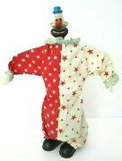Vintage Bingo The Clown Toy Made In Japan Battery Operated 14 High