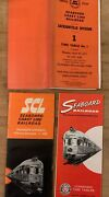 Seaboard Air Line Railroad Public And Employee Timetables