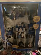 Disney Parks Cinderella Castle Playset With Mickey And Minnie Light Up Fireworks