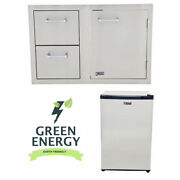 Lion Bbq Combination Door/drawer And Refrigerator Package Deal