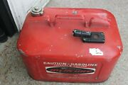 Vintage Mercury 6 Gal Gas Can Outboard Boat Troller