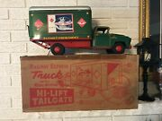 Marx Railway Express Truck Real Action Hi-lift Tailgate Box Accessories Toy Dl