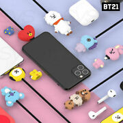 Bts Bt21 Official Authentic Goods Character Cable 5pin Or 8pin Or Type-c