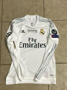 Real Madrid Kroos 6 Match Issue Germany Trikot Player Issue Adizero Shirt Jersey