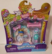 Shopkins Happy Places Royal Trends Charming Playset Wedding Arch W/ Groom