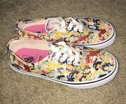 Girls X Disney Multi Princess Shoes Youth Kids 3y Ariel Rare Sold Out