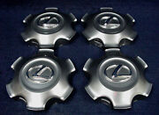 Lexus Gx460 2010-2019 Platinum Center Caps - Set 4 - Fits The 18 Alloy Wheel