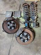 86 Porsche 944 Turbo Brakes Early Spindles Front Rear Arms Rotors Calipers