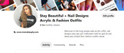Pinterest Beauty Fassion Accont For Sell With 22.1m Monthly Viewers 400 Follwer